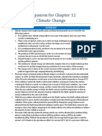 Companion for Chapter 12 Climate Change