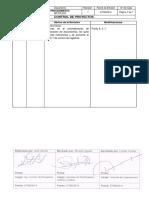 MP-PR-003 Rev 0 Control de Proyectos_rev 1