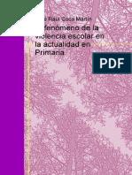 eBook en PDF El Fenomeno de La Violencia Escolar en La Actualidad en Primaria