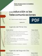 Presentación Introducción a Las Telecomunicaciones(1)