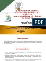 Objetosdidcticos Algebra 120912082525 Phpapp01