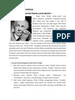 Analisa Bangunan Arsitek Frank Lloyd Wright