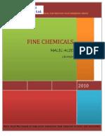 Fine Chemicals of Thirumalai chemicals ltd.