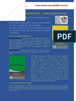 NED Journal Flyer
