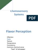 Chemical Senses