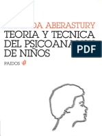 Teoría y técnica del psicoanálisis de niños [Arminda Aberastury]