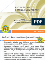 Perencanaan Proyek Dan Project Charter