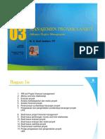 PPT Manajemen Konstruksi Lanjut [TM3]