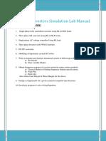 Power Converters Simulation Lab Manual-[2015-2016]