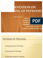 PLYWOOd production and operation