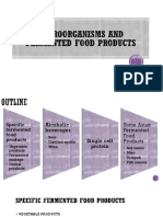 6 Microorganism and Fermented Food Product1