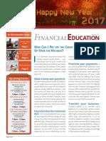 BFE Newsletter January 2017