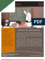 Grad Program Sheet-Music Education v2010-07b