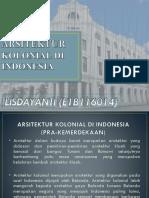 Arsitektur Kolonial Di Indonesia