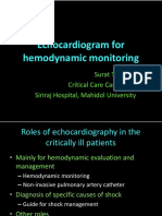 Workshop Echo for Hemodynamic Monitor TCCM 2014 Handout