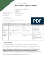 Unidad didactica 1 Primer Grado 2016