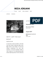 Why I Left the Alt-Right — Jason Reza Jorjani
