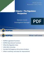 DROPS the Regulators Perspective NOPSA
