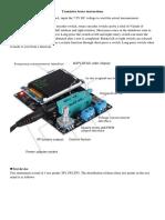Transistor Tester Instructions E1821 User's Manual