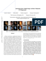 Large Pose 3D Face Reconstruction from a Single Image via Direct Volumetric CNN Regression