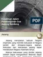 Kezaliman Dalam Pembangunan Gua Jepang Bandung