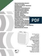 A1-401IDL Termo Ventilatore Ceramico