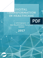 New Digital Transformation in Healthcare