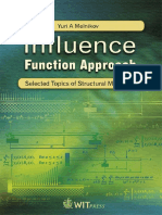 Y. a. Melnikov-Influence Function Approach _ Selected Topics of Structural Mechanics-WIT (2008)