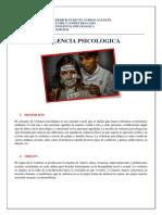 VIOLENCIA PSICOLOGICA