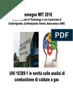 Le Novita Sulle Analisi Di Combustione Di Caldaie a Gas