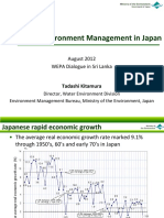 Water Environment Management in Japan