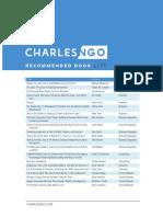 Charles Ngo Reading List