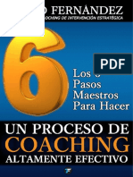 Los 6 Pasos Maestros de Un Proceso de Coaching Altamente Efectivo