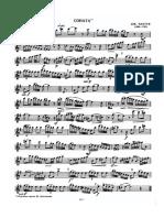 Platti - Sonata for flute