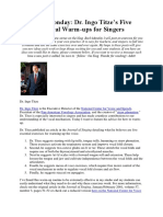 Dr. Ingo Titze's Five Favorite Vocal Warm-ups for Singers.docx
