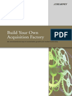 I. Pre-merger Insights - 1 Acquisition Factory