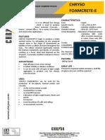 TDS of CHRYSO FOAMCRETE-E.pdf