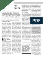 Dr. Stefan Lanka - HIV Realität Oder Artefakt - Raum Und Zeit Nr 77 1995