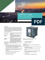 SIPROTEC 7SJ85 V7 Profile.pdf