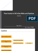 Flow Control in Oil & Gas Wells and Pipelines
