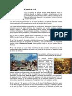 Batalla de Boyacá 7 de Agosto de 1819