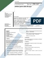NBR 11375 PB 1447 - Tambor para cabo de aco.pdf