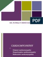 Cp - Cardiomyopathy