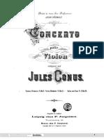 Conus - Violin Concerto (Piano Reduction Of The Orchestra).pdf