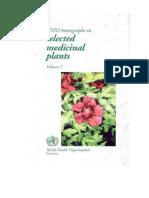 28602_herbal Medicine - WHO Monograph of Selected Medicinal Plants Vol 1-4