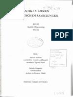 Brandt, E.; Schmidt, E. 1970. Antike Gemmen in Deutschen Sammlungen Berlin, Braunschweig, Göttingen,