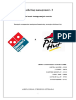 25371457 Pizza Hut and Dominos Marketing Strategy