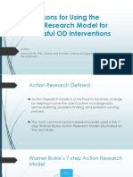 10 Reasons for Using the Action Research Model