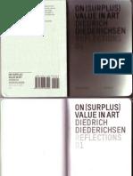 DIEDRICHSEN-On Surplus Value in Art