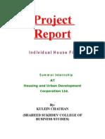 Project on Housing Loan